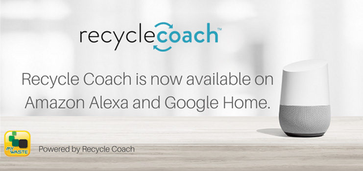 Hands-free help from Recycle Coach voice apps