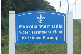 At their July 21, 2015 meeting, Council took action to name the Borough's Water Treatment plant after former Councilman Mac Eidle! Congratulations, Mac!